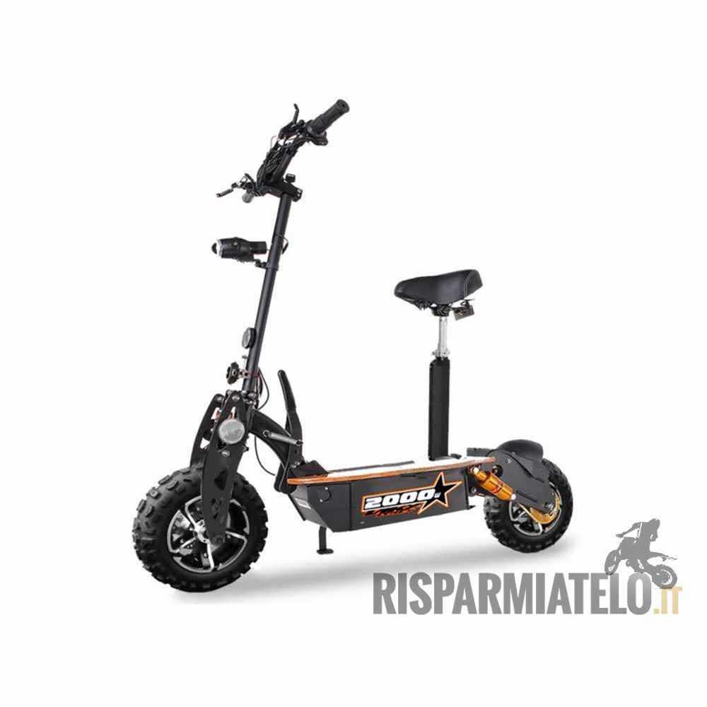 monopattino e scooter 2000w 60v ultra power. Black Bedroom Furniture Sets. Home Design Ideas